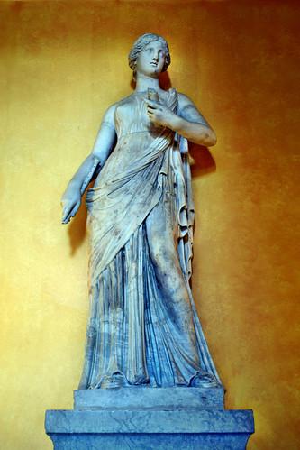 Estatua en el palacio de Vaux-le-Vicomte (Maincy)