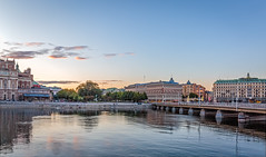 Approaching twilight (PhredKH) Tags: canonphotography fredkh photosbyphredkh phredkh splendid cityscape cityofstockholm stockholm travelphotography scenicwater bridge reflections sky picturesque ef2470mmf4lisusm 2470mm canoneos5dmarkiii