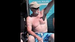 cap (miosoleegrant2) Tags: deck cruise vacation sea pool swim bare chest naked swimsuit swimwear sunning male men hunk muscle masculine pecs torso guy chested buzz armpits hairy nipples abs navel outdoor water swimming sport husky burly strapping brawny speedo people belly silver daddy silverdaddies seniors mature 50 man siverdaddy grandad granddad grandaddy granddaddy silverfox older fit old hombre maduro guapo