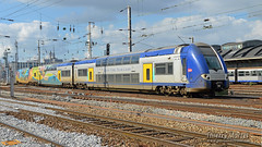 Z 24655/56 (378), Amiens - 05/03/2014 (Thierry Martel) Tags: z24500 amiens automotrice sncf