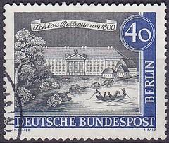 Deutsche Briefmarken (micky the pixel) Tags: briefmarke stamp ephemera deutschland bundespost berlin altberlin gebäude building schloss castle schlossbellevue