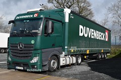 DSC_0012 (richellis1978) Tags: truck lorry haulage transport logistics cannock mercedes benz actros mp4 ro romania duvenbeck bv31dve