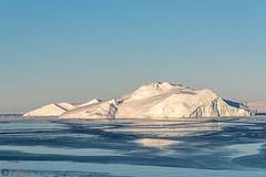 Greenland, Icebergs in the city (IzabelaWinter) Tags: greenland icebergs ilulissat disko bay