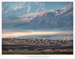 Death Valley, Panamint Foothills, Morning (G Dan Mitchell) Tags: panamint mountains hills range salt flat playa desert morning light buttes wash alluvial fan deathvalley national park landscape nature california usa north america