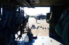 2-224th Aviation crews conduct aerial gunnery in N.C. (Virginia Guard Public Affairs) Tags: virginia army national guard uh60 blackhawk helicopter 2224 aviation aerial gunnery olf northcarolina crew chief