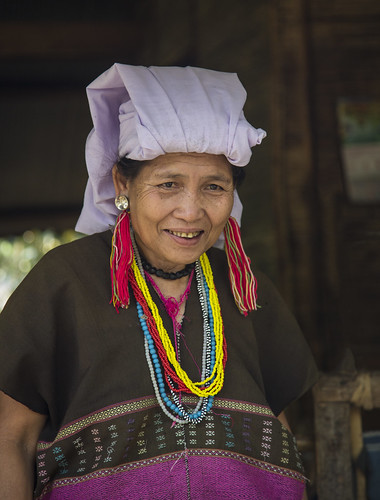 B25A1218 Hill Tribe Resident - Chiang Mai, Thailand