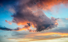 Cloud (Ignacio Ferre) Tags: cloud nube sunset puestadesol nikon cielo sky colores colours paisaje landscape air aire