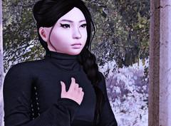 σωиєя σf α ℓσиєℓу нєαят... (Pheebes Cheng) Tags: yes brokenheart lonelyheart sl secondlife slphotography submissive ddlg asian virtualworld virtualphotography catwa catya maitreya truthhair