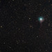 C/2014 E2 (Jacques) comet over the stars