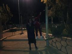20181205_hariton7 (Regine G.) Tags: havingfun night playground boy woman outdoor
