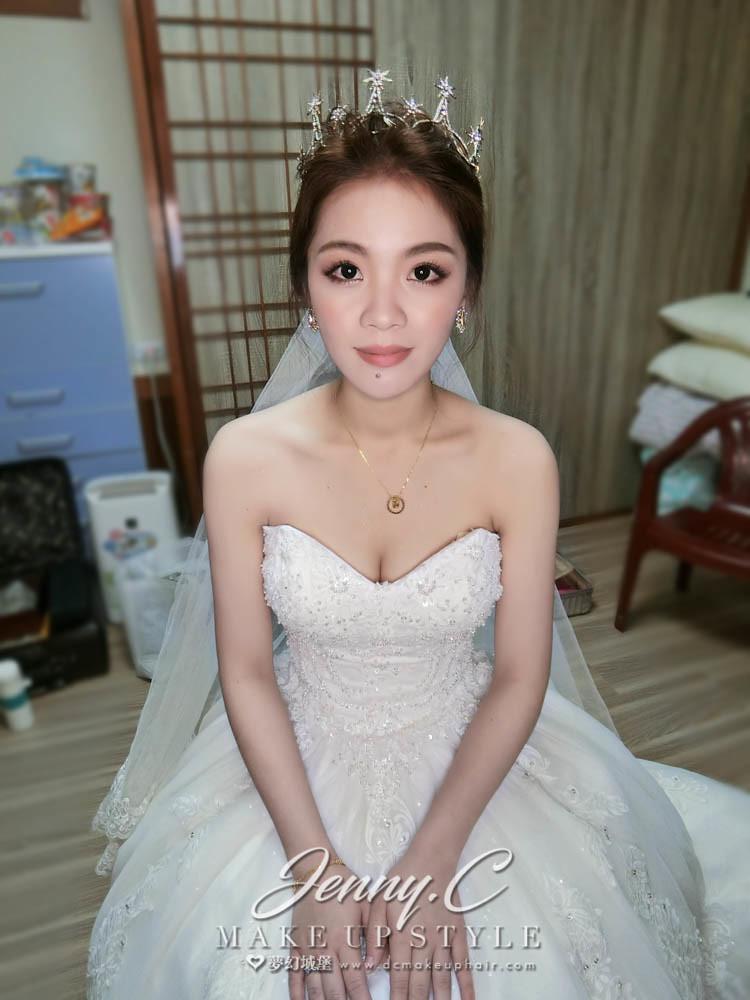 【新秘蓁妮】bride名香 結婚造型 /彰化江屋婚宴會館