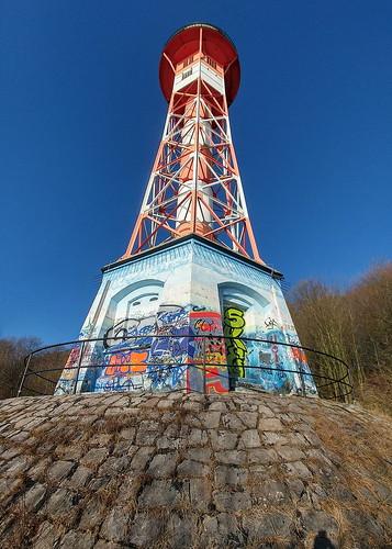Hamburg - Leuchtturm Rissen Unterfeuer