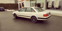 Audi 100. (Greyframe) Tags: grayframe audi 100 vintage car