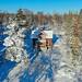 Vinterhus i Spillersboda