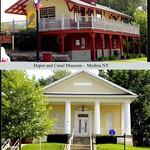 Spencerport and Medina New York - Former Masonic Hall &  Spencerport Depot & Canal Museum thumbnail