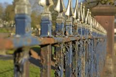 RailAgainst (Tony Tooth) Tags: nikon d7100 nikkor 40mm railings iron rust flakingpaint leek staffs staffordshire shibui wabisabi