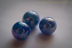 Lost My Marbles (SoS) (13skies) Tags: threesame smileonsaturday sonyalpha100 macroscopic macro three similar blue