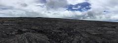 Panorama of Mauna Ulu (Ken S Three) Tags: volcano hawaii panorama maunaulu bigisland landscape