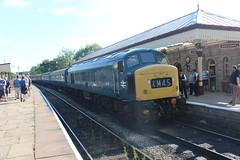 4108 (matty10120) Tags: class railway rail train travel transprot ramsbottom east lancs lancashire diesel gala 2018 45