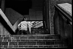 C36-8 1975 Brutalism (hoffman) Tags: housing architecture brutalist brutalism city urban london outdoors street barbican brunswickcentre londonwall concrete davidhoffman wwwhoffmanphotoscom