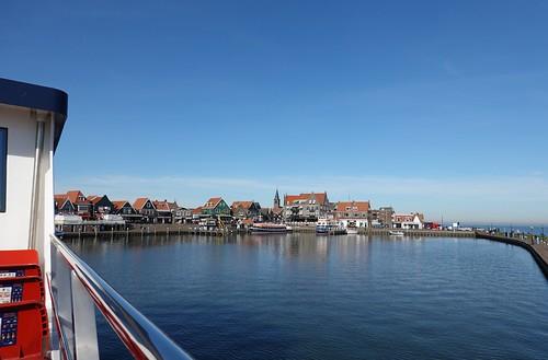 Ferry approaching Volendam, Netherlands (1)