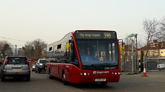 *FINAL DAY!* 25313, LX09AAF on 396 in Newbury Park Station (EastBeckton372) Tags: final day 25313 lx09aaf 396