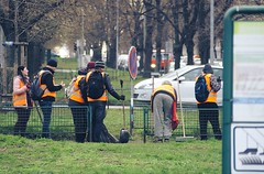 Good People (DJ_Black_Tea) Tags: grass public works good serve workers service prague a6000 tamron manual focus 35135