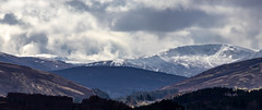 Newtonmore scenery (DiamondDave944) Tags: ifttt 500px snowcapped mountain range sky scotland newtonmore glen road highlands canon eos 77d