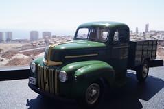 1946 Ford pick-up 1/24 diecast (rigavimon) Tags: diecast miniaturas 124 1946 ford pickup miniature