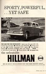 1962 Hillman Saloon Rootes Group Aussie Original Magazine Advertisement (Darren Marlow) Tags: 1 2 6 19 62 1962 h hillman s saloon r rootes g group c car cool collectible collectors classic a automobile v vehicle e english england b britain 60s
