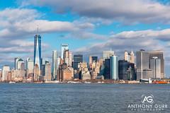 Manhattan Skyline, New York City, USA (AnthonyGurr) Tags: newyork newyorkcity nyc thebigapple america usa unitedstates skyline cityscape cityview anthonygurr manhattan city