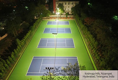 Acrylic tennis court in India (ssgsportsurface) Tags: ssgsportsurface sportflooring runningtrack basketballcourt sportcourt stadium construction epdm syntheticflooring siliconpu prefabricatedrunningtrack