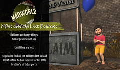 Miles and the Lost Balloons Quest (MadPea Productions) Tags: quest mad world madpea productions madpeas balloons decor fun mystery hunt quests
