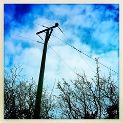 Patchy Cloud (Julie (thanks for 8 million views)) Tags: hipstamaticapp squareformat bluesky clouds hedge 2019onephotoeachday 100xthe2019edition 100x2019 image20100 iphonese wexford ireland irish