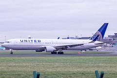 N664UA | United Airlines | Boeing B767-322(ER)(WL) | CN 29236 | Built 1998 | DUB/EIDW 15/01/2019 (Mick Planespotter) Tags: aircraft airport 2018 dublinairport collinstown nik sharpenerpro3 n664ua united airlines boeing b767322erwl 29236 1998 dub eidw 15012019 b777 ua
