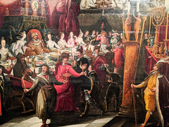 """Belshazzar's Feast"" (mid 17th c.), Bartholomeus Strobel the Younger (Joey Hinton) Tags: phoenix art museum pixel2 google android smartphone cellphone cameraphone phone arizona"
