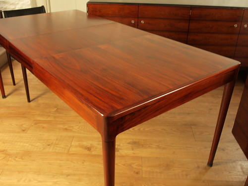"H.W.Klein for Bramin,Denmark 60's extending dining table. • <a style=""font-size:0.8em;"" href=""http://www.flickr.com/photos/69514980@N03/40148360753/"" target=""_blank"">View on Flickr</a>"
