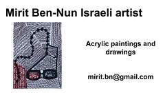 Mirit Ben-Nun strong art ideas from center of art leading exhibition virtual gallery (female art work) Tags: material no borders rules by artist strong from language influence center art participates exhibition leading powerful model diferent special new world talented virtual gallery muse country outside solo group leader subject vision image drawing museum painting paintings drawings colors sale woman women female feminine draw paint creative decorative figurative studio facebook pinterest flicker galleries power body couple exhibit classic original famous style israel israeli mirit ben nun