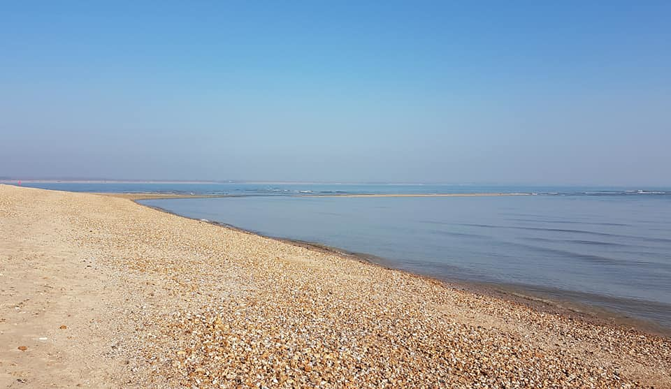 Beach at Calshot, Hampshire 1