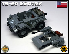 TS_20_BADGER_04 (Cooper Works 70) Tags: lego ww2 wwii custom stickers military cooper works