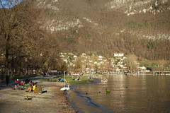 Plage d'Albigny @ Annecy-le-Vieux (*_*) Tags: march 2019 hiver winter afternoon europe france hautesavoie 74 annecy savoie annecylevieux plagedalbigny lacdannecy lakeannecy lac lake sunset sunny