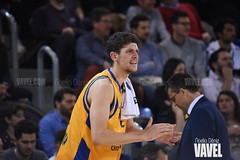 DSC_0337 (VAVEL España (www.vavel.com)) Tags: fcb barcelona barça basket baloncesto canasta palau blaugrana euroliga granca amarillo azulgrana canarias culé