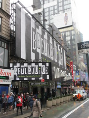 Beetlejuice The Musical Winter Garden Theater Marquee 4370 (Brechtbug) Tags: beetlejuice the musical winter garden theater marquee display 2019 nyc broadway 7th ave 51st street ben cooper halco collegeville monster creature graveyard ghoul dead guy moss hair green stripes fashion mutants villains tim burton film movie 1988 80s 1980s figure hell purgatory beatle beetle juice ghost with most michael keaton possession exorcist betelgeuse exorcism haunt