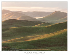 Green HIlls, Morning Mist (G Dan Mitchell) Tags: carrizo plain hills mountains morning fog mist atmosphere light sunrise clouds grass spring green southern california usa north america landscape nature