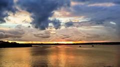 Brasília - Sunset (sileneandrade10) Tags: sileneandrade brasília pontejk pontejuscelinokubitschek sunset landscape paisagem céu nuvens água lagoparanoá lago reflexo nikoncoolpixp900 nikon hdr softwarepixlr pixlr