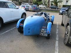 Bugatti Replica (occama) Tags: pof783g bugatti replica teal 1969 triumph vitesse old car cornwall uk sports kit blue