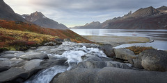 Far from Labor and Battle (ansharphoto) Tags: adventure arctic autumn beautiful blue boat bush climbing coast cold extreme fjord granite grass greenland hiking landmark landscape leaves morning moss mountain nature orange outdoor peak polar range red reflection river rocks sky south stones stream summit sunrise tasermiut tourism tranquility travel trekking vacations view water waterfall wild wilderness yacht