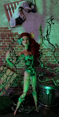 Gotham Needs Greening (MaxxieJames) Tags: poison ivy dc dcu pamela isley batman gotham city arkham asylum green doll collector custom ooak villain mattel
