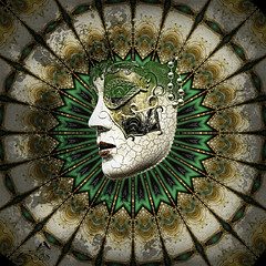 The Mask (SØS: Thank you for all faves + visits) Tags: carnival digitalart digitalartwork art kunstnerisk manipulation solveigøsterøschrøder artistic face fantasy green mask photomanipulation 100views