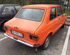 1980 Zastava 101 1100 Mediteran (FromKG) Tags: zastava yugo 101 1100 mediteran orange car kragujevac serbia 2019